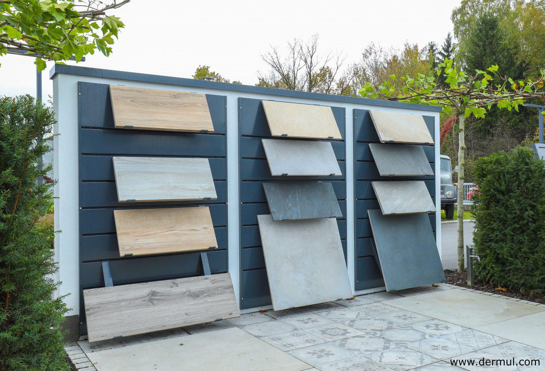 Outdoor tile displays